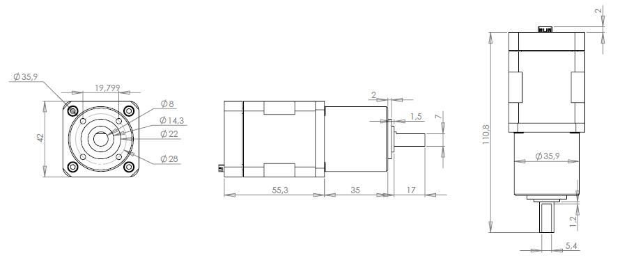 2D EZYACT4241-STH-28