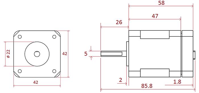2D EZYACT4240-QSH-3-CANopen