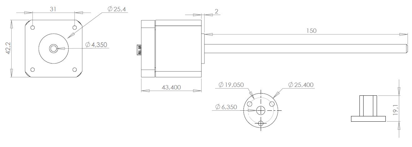 2D EZYACT4241-E43-P
