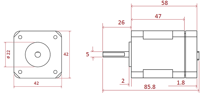 2D EZYACT4241-QSH-3